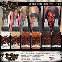 World Famous Ink Michele Turco Color Portrait SET