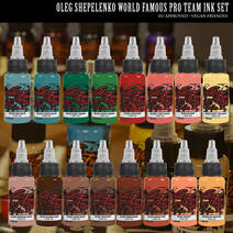 World Famous Ink Oleg Shepelenko Color SET
