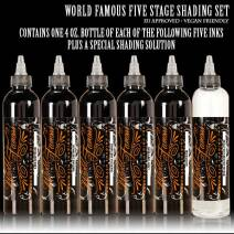 World Famous Ink Five Stage Shading SET 120ml