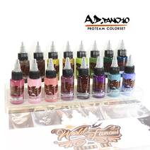 World Famous Ink A.D. Pancho Proteam Color SET