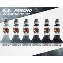 World Famous Ink Pancho Pastel SET 120ml
