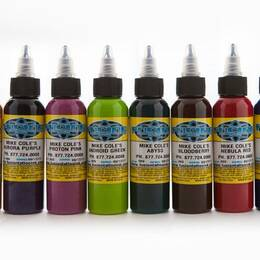 Fusion ink, Mike Cole Set 8x30ml