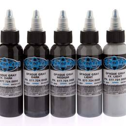 Fusion ink, Opaque Greywash SET 5x 30ml