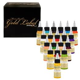 Intenze Ink, Mario Barth's Gold Label SET