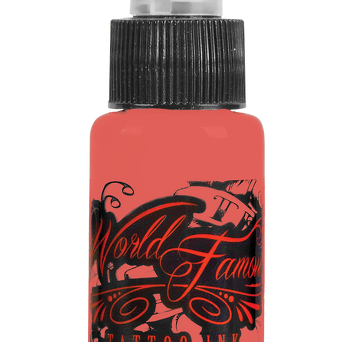 World Famous Tattoo Ink, Maximus Peach 30ml
