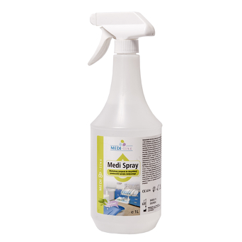 Medi Spray - alcohol spray to disinfect surfaces of equipment 1L