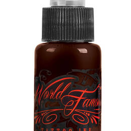 World Famous Tattoo Ink, Badlands Brown 15ml