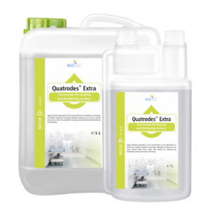 Quatrodes Extra - Concentrate for cleaning and disinfecting surfaces 5L