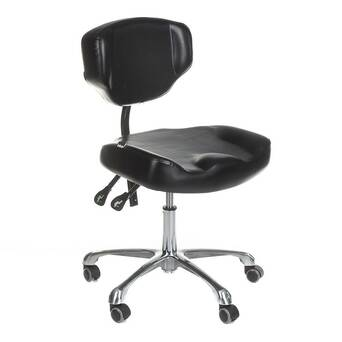 Stool with backrest Comfort 3