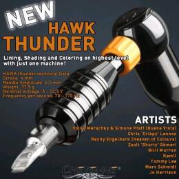 Cheyenne Hawk Thunder black 21mm