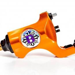 "Bishop Rotary Lamborghini Orange, Stroke Extra Long 3,5"" RCA"