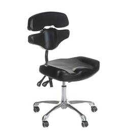 Stool with backrest - Comfort 4