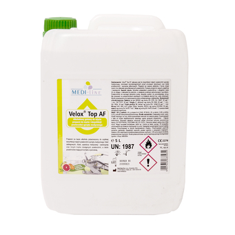 Velox Top AF -  alcoholic preparation for cleaning and disinfection of equipment 5L