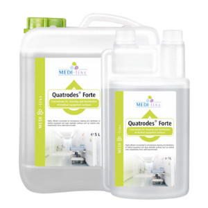 Quatrodes Forte - Concentrate for cleaning and disinfecting surfaces 5L