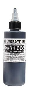 SILVERBACK DARK 666 120ml (almost black)