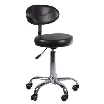Stool with backrest 2