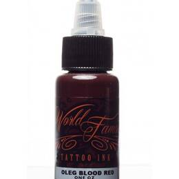 World Famous Tattoo Ink, Oleg Blood Red 30ml