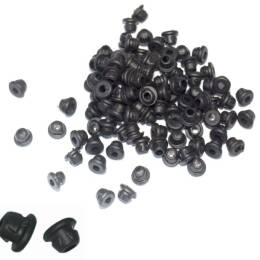 Armature bar Nadelstangengummis. 100pcs black