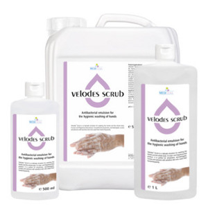Velodes Scrub -  Antibacterial emulsion for washing hands 1L