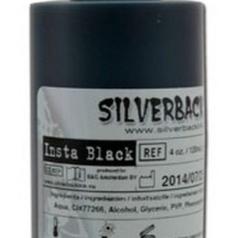 SILVERBACK INSTA BLACK 120ml NEW