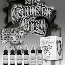 Intenze Ink, Gangster Grey 6x30ml