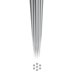 FANTOM NEEDLES  3 Round Liner 0,35 Long Taper 1szt