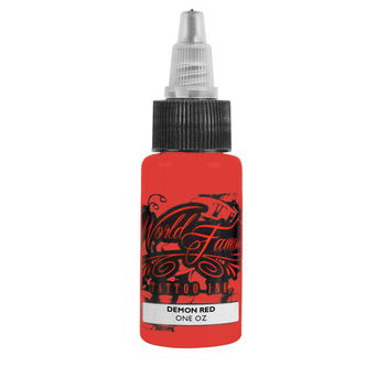 World Famous Tattoo Ink, Demon Red 30ml