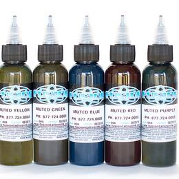 Fusion ink, Muted Color SET 5x30ml