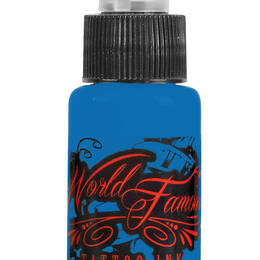 World Famous Tattoo Ink, Bangkok Blue 30ml