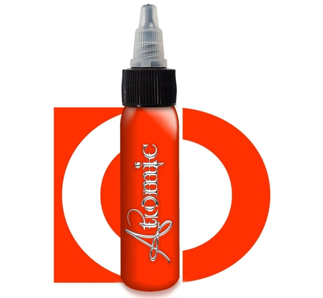 Atomic Ink, Coral Red 30ml