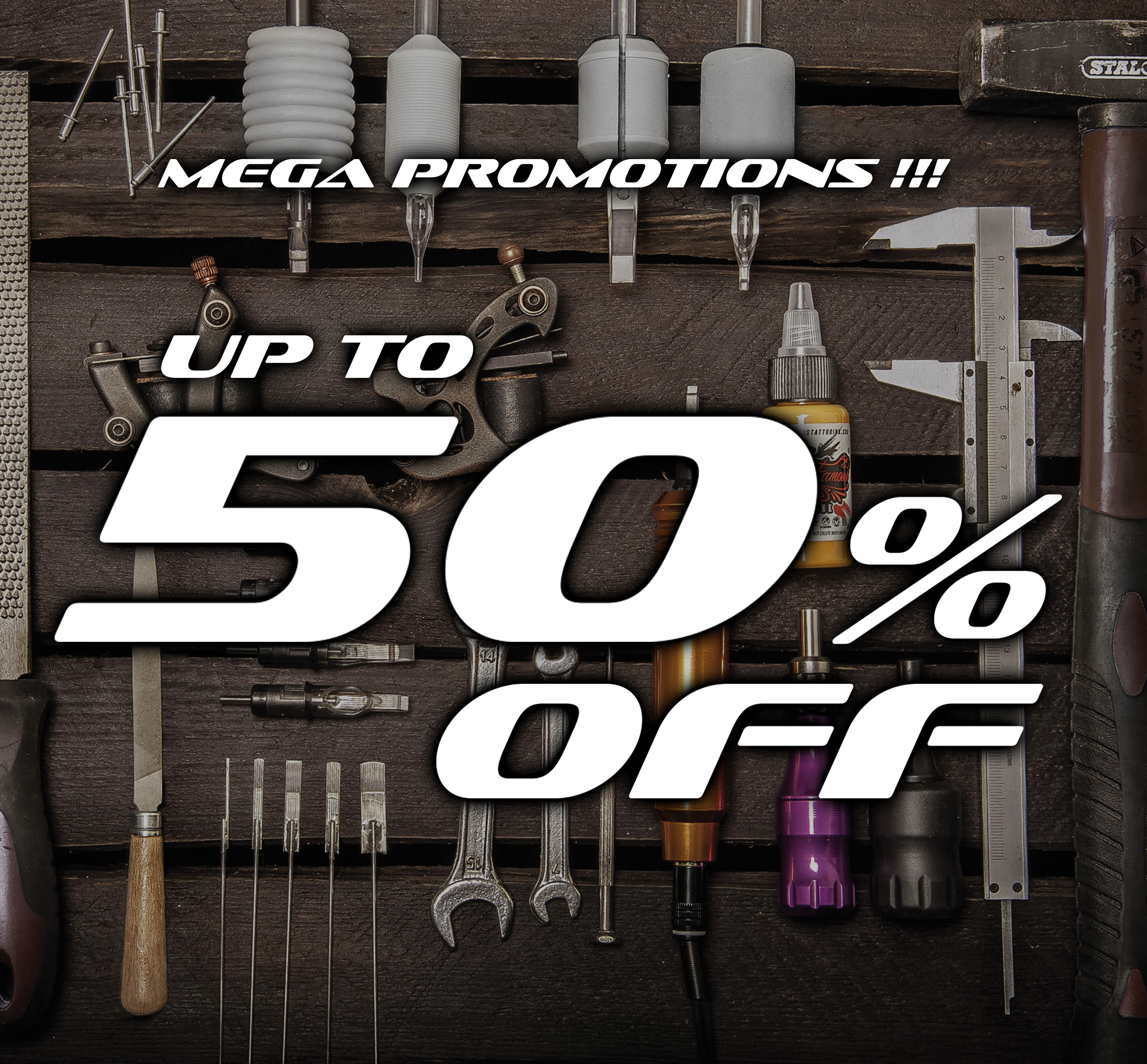 50% OFF ! PROMOTION!!